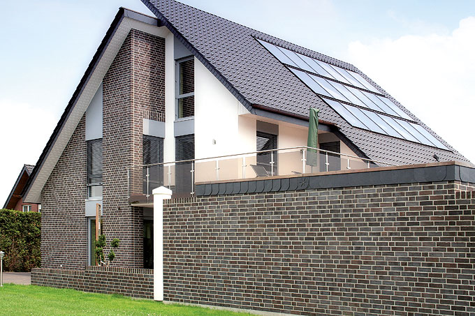 Фасадная клинкерная плитка для облицовки дома