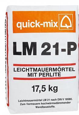 LM 21 P теплоизоляционный раствор на перлите