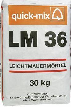 LM-36 теплоизоляционный раствор с керамзитом
