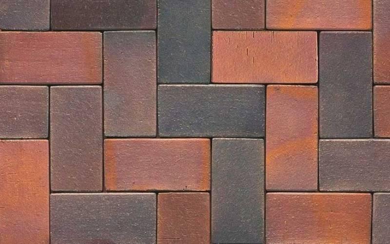 тротуарная брусчатка - цвет и фактура 04