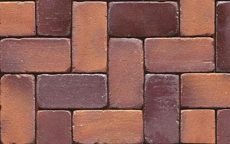 тротуарная брусчатка - цвет и фактура 04g