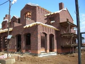 Дом облицован клинкерной плиткой MUHR
