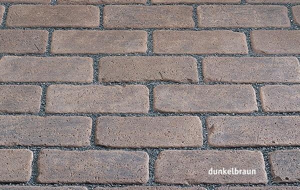 Клинкерная брусчатка Kerawill. Серия Keratique _цвет dunkelbraun