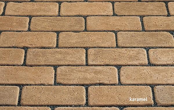 Клинкерная брусчатка Kerawill. Серия Keratique _цвет karamel