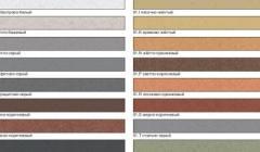 цветная смесь для заделки швов
