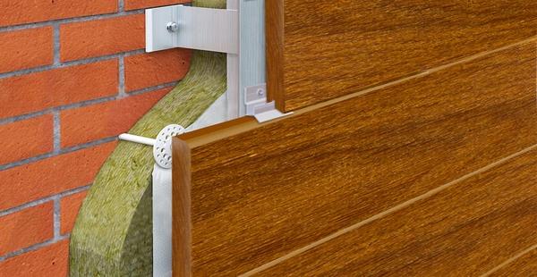 Утепление фасадов натуральной древесиной