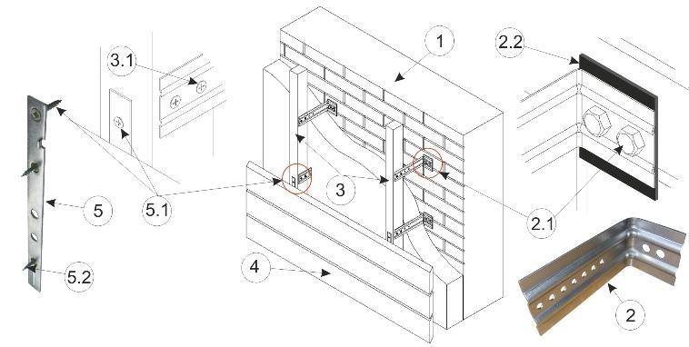 kreplenie fasadnji doski
