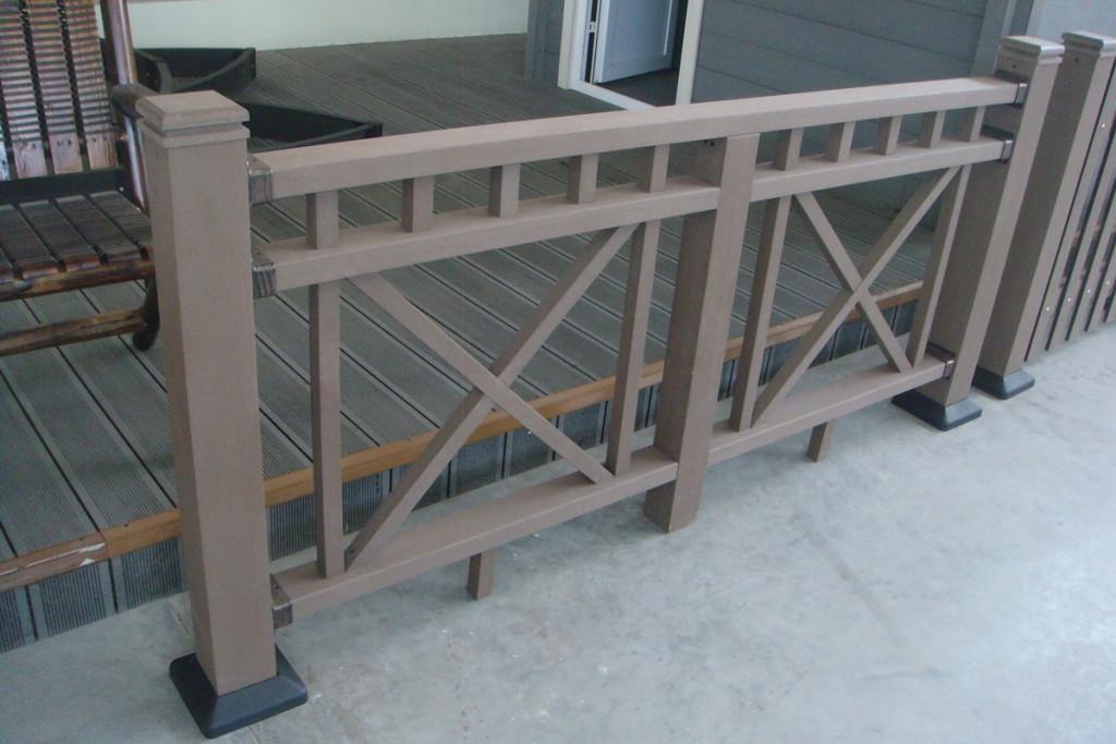 X fame railing