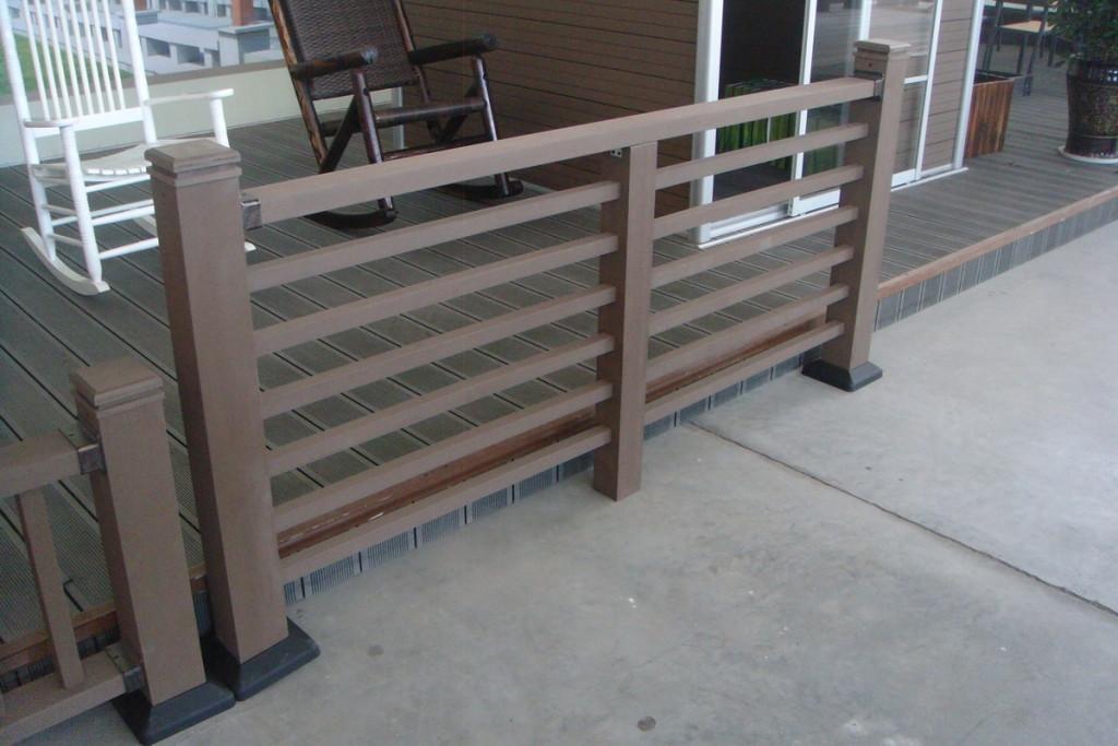 horizontial railing